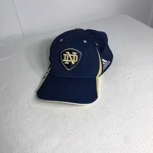 Adidas Notre Dame Fitted Hat L/XL